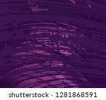 2d illustration. concrete wall... | Shutterstock . vector #1281868591