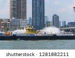 rotterdam  netherlands  ... | Shutterstock . vector #1281882211