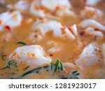 close up of crab curry with... | Shutterstock . vector #1281923017