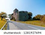 beautiful architecture at vaduz ... | Shutterstock . vector #1281927694