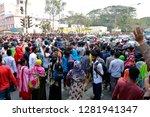 dhaka  bangladesh   january 12  ... | Shutterstock . vector #1281941347