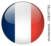 france flag button | Shutterstock . vector #128197781