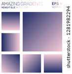 colorful gradients in midnight... | Shutterstock .eps vector #1281982294