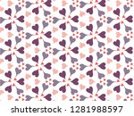happy valentine's day with... | Shutterstock .eps vector #1281988597