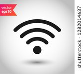 wireless internet connection... | Shutterstock .eps vector #1282014637