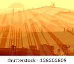 vector abstract background... | Shutterstock .eps vector #128202809