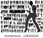 business people | Shutterstock .eps vector #128203265