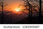 sunset at mcgee vista point  ... | Shutterstock . vector #1282045687