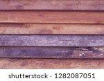 reclaimed wood wall paneling... | Shutterstock . vector #1282087051