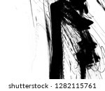abstract ink background.black... | Shutterstock . vector #1282115761