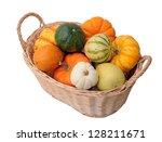 Mini Pumpkin And Squash In...