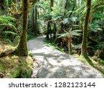 lake matheson track  new...   Shutterstock . vector #1282123144