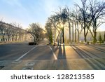 morning in tashkent | Shutterstock . vector #128213585