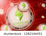 ethereum classic crash ... | Shutterstock . vector #1282146451