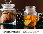 Mason Jar With Fresh Citrus Tea ...
