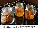 Two Mason Jars With Healthy...