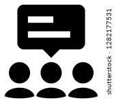 represent advocate vector icon | Shutterstock .eps vector #1282177531
