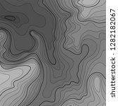 map line of topography. vector... | Shutterstock .eps vector #1282182067