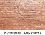 old red brick wall background... | Shutterstock . vector #1282198951