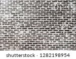 old grey brick wall background... | Shutterstock . vector #1282198954