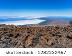 the northern slope and lava... | Shutterstock . vector #1282232467