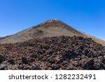 peak of teide mount  height of... | Shutterstock . vector #1282232491