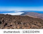 the northern slope and lava... | Shutterstock . vector #1282232494