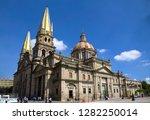 guadalajara's cathedral ...   Shutterstock . vector #1282250014