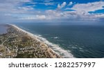 drone photo of the outer banks  ...   Shutterstock . vector #1282257997