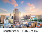 downtown new orleans  louisiana ... | Shutterstock . vector #1282275157