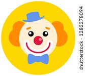 clown flat icon for app ui web. ...