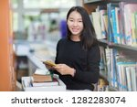 students in asian universities... | Shutterstock . vector #1282283074