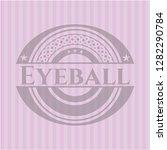 eyeball vintage pink emblem | Shutterstock .eps vector #1282290784