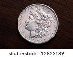 1889 Usa Morgan Silver Dollar...