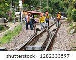 lamphun  thailand december 31 ... | Shutterstock . vector #1282333597