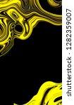 graphic illustration oil... | Shutterstock . vector #1282359007
