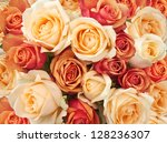 Stock photo roses as a background 128236307