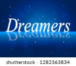 daca kids dreamer legislation... | Shutterstock . vector #1282363834