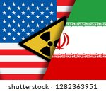 iran nuclear sign   deal... | Shutterstock . vector #1282363951