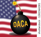 daca kids dreamer legislation... | Shutterstock . vector #1282364281