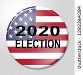 2020 election usa presidential... | Shutterstock . vector #1282364284