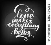 chalkboard blackboard lettering....   Shutterstock .eps vector #1282424281