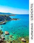 ragged coast of akamas... | Shutterstock . vector #1282424701