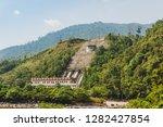 pangi  tenom  sabah  malaysia   ... | Shutterstock . vector #1282427854