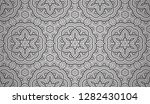 flower geometric pattern with... | Shutterstock . vector #1282430104