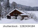 snowy reit im winkl  chiemgau ...   Shutterstock . vector #1282434184