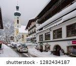 parish church of st. pankratius ...   Shutterstock . vector #1282434187