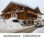 snowy reit im winkl  chiemgau ...   Shutterstock . vector #1282434214