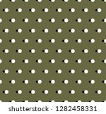 vector background. polka dot... | Shutterstock .eps vector #1282458331
