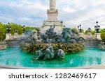 girondins monument column with... | Shutterstock . vector #1282469617